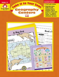 Take It to Your Seat: Geography Centers, Grades 1-2 - Teacher Reproducibles, E-book