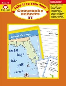 Take It to Your Seat: Geography Centers, Grades 2-3 - Teacher Reproducibles, E-book