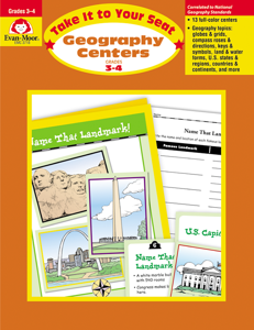 Take It to Your Seat: Geography Centers, Grades 3-4 - Teacher Reproducibles, E-book