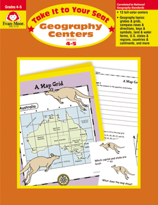 Take It to Your Seat: Geography Centers, Grades 4-5 - Teacher Reproducibles, E-book