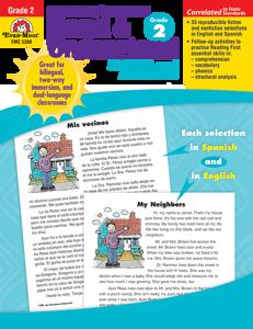 Spanish/English Read and Understand, Grade 2 - Teacher Reproducibles, E-book