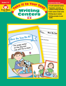 Take It To Your Seat: Writing Centers, Grades 2-3 - Teacher Reproducibles, E-book