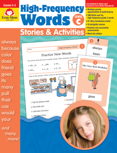 High-Frequency Words: Stories & Activities, Grades 2-3 (Level C)- Teacher Resource, E-book
