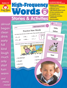 High-Frequency Words: Stories & Activities, Grades 2-3 (Level D)- Teacher Resource, E-book