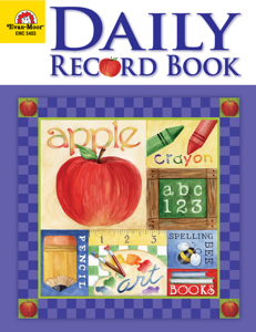 Daily Record Book: School Days, Grades K-6 - Teacher Reproducibles, E-book