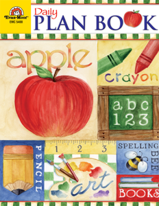 Daily Plan Book: School Days, Grades K-6 - Teacher Reproducibles, E-book