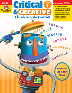 Critical and Creative Thinking Activities, Grade 1 - Teacher Reproducibles, E-book