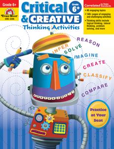 Critical and Creative Thinking Activities, Grade 6 - Teacher Reproducibles, E-book