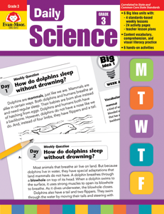 Daily Science, Grade 3 - Teacher's Edition, E-book