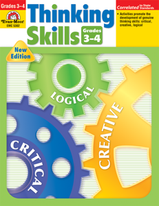 Thinking Skills, Grades 3-4 - Teacher Reproducibles, E-book