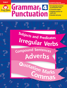 Grammar & Punctuation, Grade 4 - Teacher Reproducibles, E-book