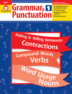 Grammar & Punctuation, Grade 1 - Teacher Reproducibles, E-book
