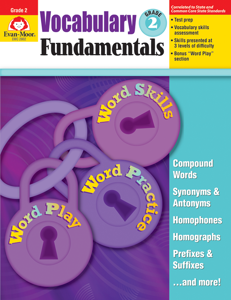 Vocabulary Fundamentals, Grade 2 - Teacher Reproducibles, E-book