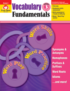 Vocabulary Fundamentals, Grade 3 - Teacher Reproducibles, E-book