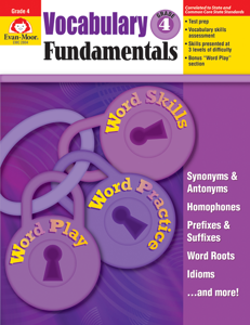 Vocabulary Fundamentals, Grade 4 - Teacher Reproducibles, E-book