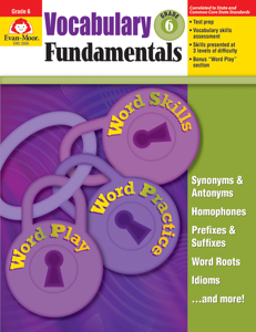 Vocabulary Fundamentals, Grade 6 - Teacher Reproducibles, E-book