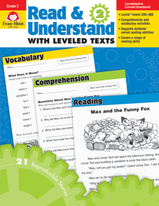 Read and Understand with Leveled Texts, Grade 2 - Teacher Reproducibles, E-book