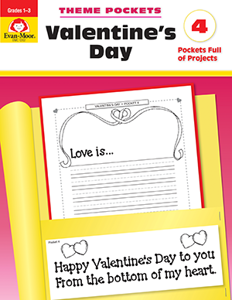 Theme Pockets: Valentine's Day, Grades 1-3 - Teacher Reproducibles, E-book