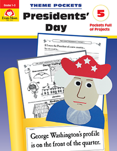 Theme Pockets: President's Day, Grades 1-3 - Teacher Reproducibles, E-book