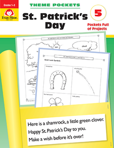 Theme Pockets: St. Patrick's Day, Grades 1-3 - Teacher Reproducibles, E-book