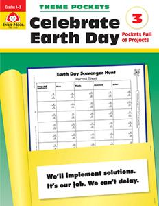 Theme Pockets: Celebrate Earth Day, Grades 1-3 - Teacher Reproducibles, E-book