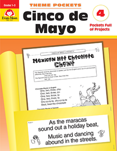 Theme Pockets: Cinco de Mayo, Grades 1-3 - Teacher Reproducibles, E-book