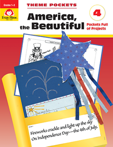 Theme Pockets: America, the Beautiful, Grades 1-3 - Teacher Reproducibles, E-book