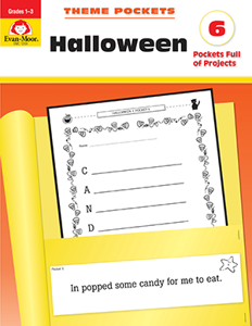 Theme Pockets: Halloween, Grades 1-3 - Teacher Reproducibles, E-book