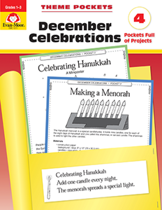 Theme Pockets: December Celebrations, Grades 1-3 - Teacher Reproducibles, E-book