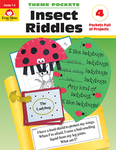 Theme Pockets: Insect Riddles, Grades 1-3 - Teacher Reproducibles, E-book