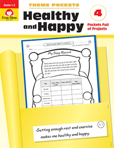 Theme Pockets: Healthy & Happy, Grades 1-3 - Teacher Reproducibles, E-book