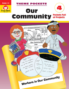 Theme Pockets: Our Community, Grades 1-3 - Teacher Reproducibles, E-book
