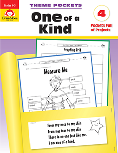 Theme Pockets: One of a Kind, Grades 1-3 - Teacher Reproducibles, E-book