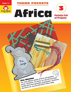 Theme Pockets: Africa, Grades 1-3 - Teacher Reproducibles, E-book