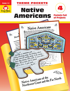 Theme Pockets: Native Americans, Grades 1-3 - Teacher Reproducibles, E-book