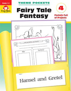 Theme Pockets: Fairy Tale Fantasy, Grades 1-3 - Teacher Reproducibles, E-book