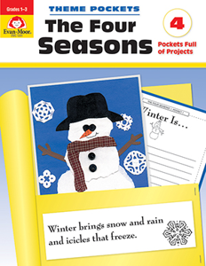 Theme Pockets: The Four Seasons - Teacher Reproducibles, E-book