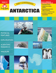7 Continents: Antarctica, Grades 4-6 - Teacher Reproducibles, E-book