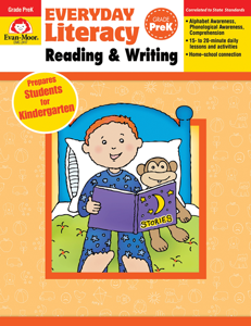 Everyday Literacy: Reading and Writing, Grade PreK - Teacher Reproducibles, E-book