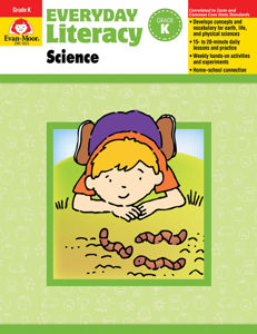 Everyday Literacy: Science, Grade K - Teacher Reproducibles, E-book