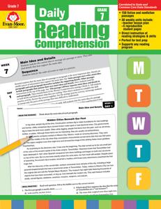 Daily Reading Comprehension, Grade 7 - Teacher's Edition, E-book
