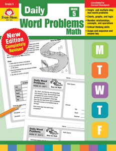 Daily Word Problems, Grade 5 - Teacher's Edition, Print