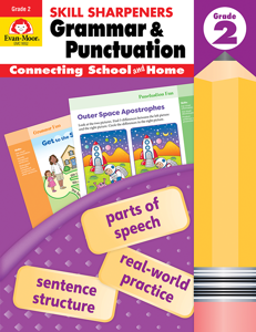 Skill Sharpeners: Grammar & Punctuation, Grade 2 - Activity Book