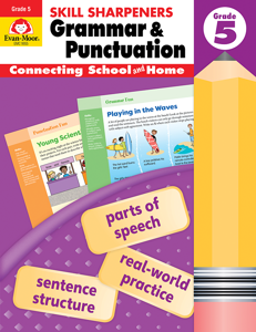 Skill Sharpeners: Grammar & Punctuation, Grade 5 - Activity Book