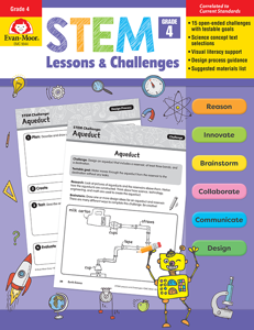 STEM Lessons and Challenges, Grade 4 - Teacher Reproducibles, E-book