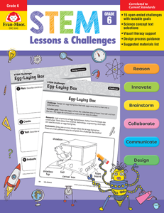 STEM Lessons and Challenges, Grade 6 - Teacher Reproducible, E-book