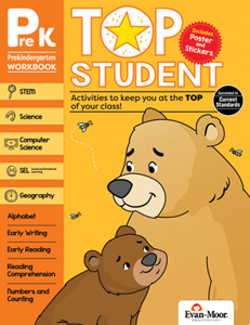 Top Student, Grade PreK - Activity Book