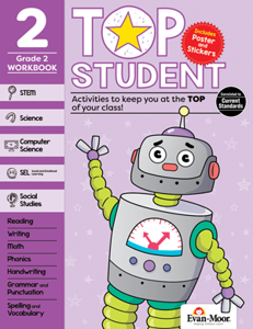 Top Student, Grade 2 - Activity Book