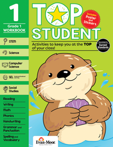 Top Student, Grade 1 - Activity Book