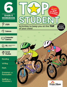 Top Student, Grade 6 - Activity Book
